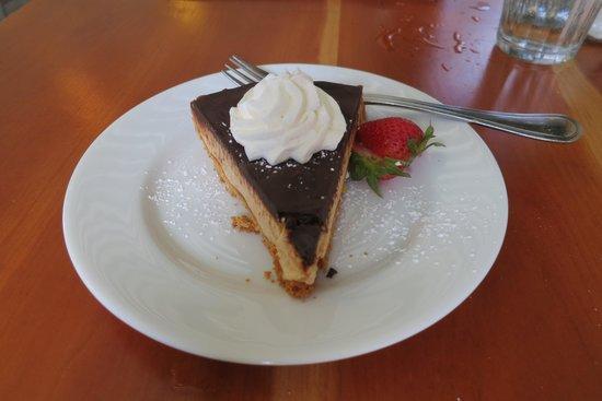 Moosewood Restaurant: Peanut Butter Chocolate Tart