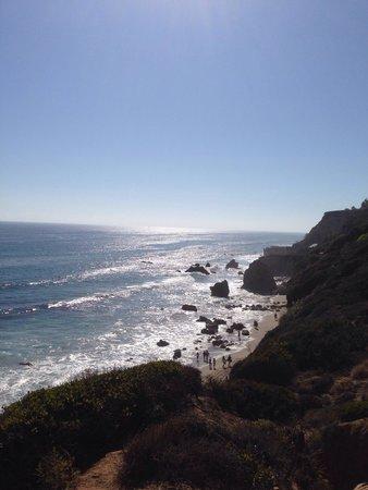 El Matador State Beach: view from top