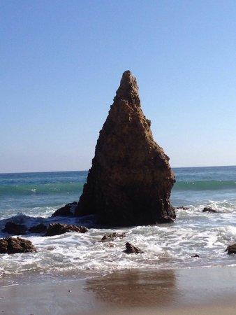 El Matador State Beach: love rock formation