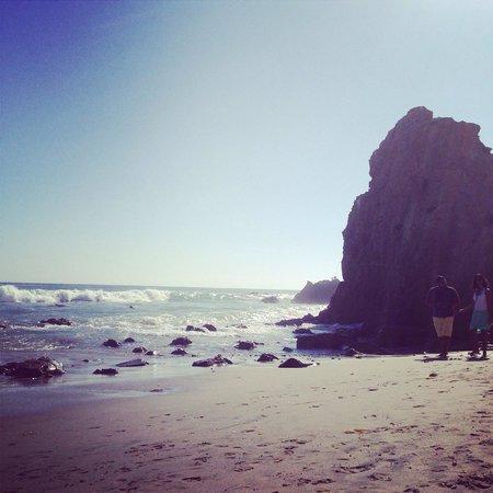 El Matador State Beach: beautiful beach, strong waves