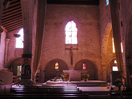 Eglise Notre-Dame des Sablons: Interior