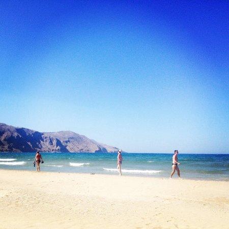Mare Monte Beach Hotel : Пляж