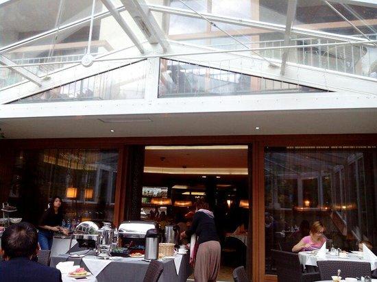 Belvedere Hotel: La veranda per la colazione