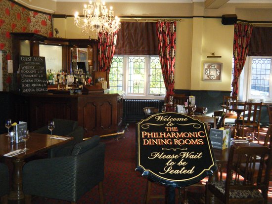 Томатный суп Picture Of The Philharmonic Dining Rooms