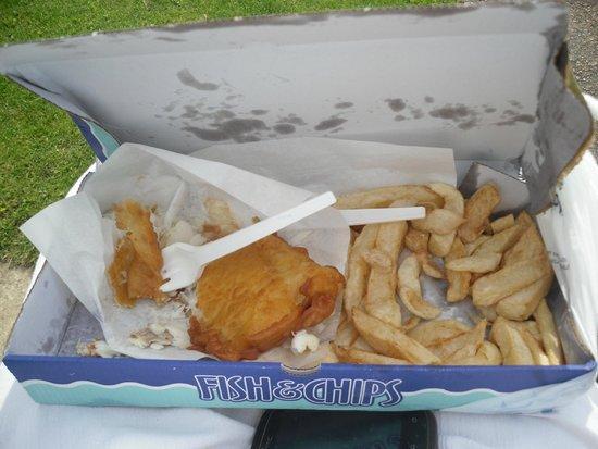 Shakey Shakey: Gluten Free cod & chips
