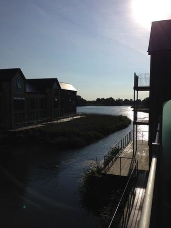 De Vere Cotswold Water Park: great views from the rooms