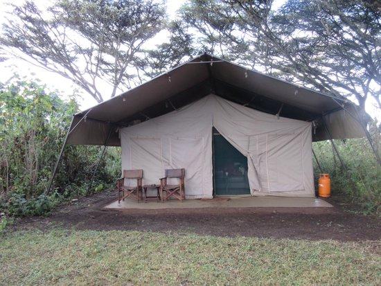 Lemala Ngorongoro Tented Camp : テント外観