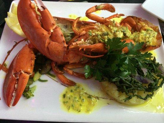 Le Sud : Plat du jour: homard entier