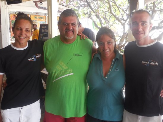Andilana Beach Resort : i ragazzi dei diving