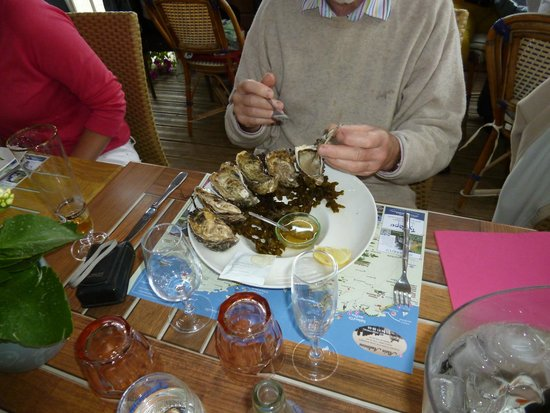 La Potiniere - Sables d'or Pins : Oysters