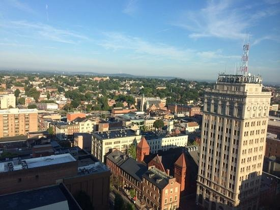 Lancaster Marriott at Penn Square: view from 19th floor