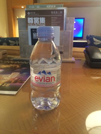 Conrad Macao Cotai Central : Small bottle of FREE water, thanks....