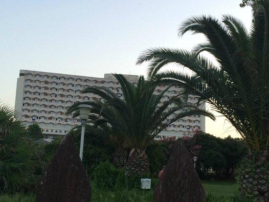 Athos Palace Hotel: grounds