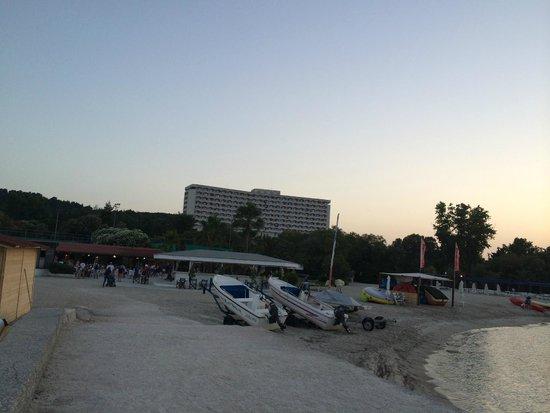 Athos Palace Hotel: beach