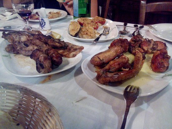 Agriturismo San Rocco: grigliata