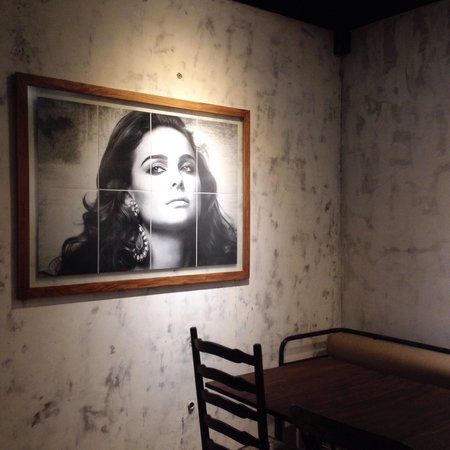 Blue Doors Indoor area with Natalie Portman by Karl Lagerfeld photo on the wall  sc 1 st  TripAdvisor & Indoor area with Natalie Portman by Karl Lagerfeld photo on the wall ...