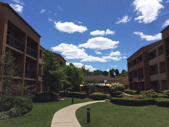 Courtyard by Marriott Hanover Whippany: 中庭