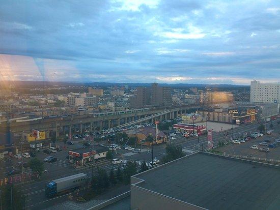ANA  Crowne Plaza Hotel Chitose : 部屋からの眺望
