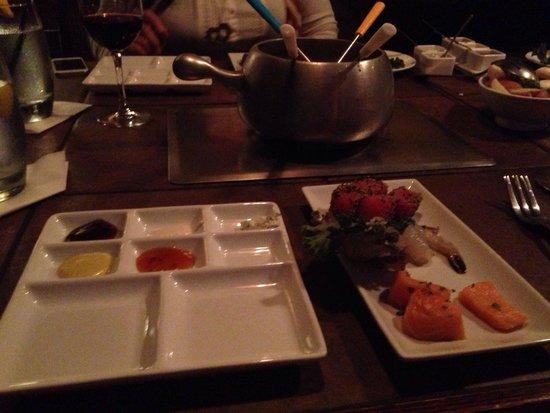 Dinner Picture Of The Melting Pot Seattle Tripadvisor