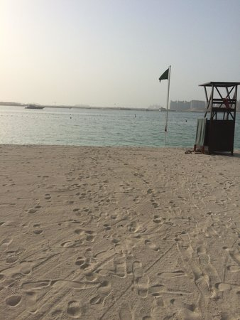 The Westin Dubai Mina Seyahi Beach Resort & Marina: The beach