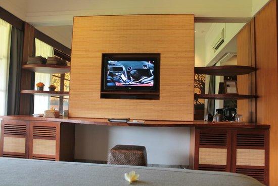 Alaya Resort Ubud : TV