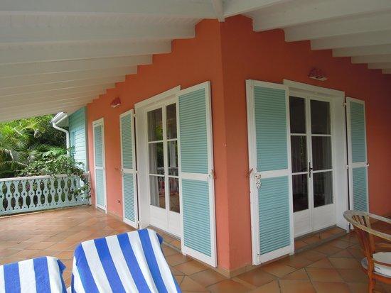 Hotel La Plantation : terasse