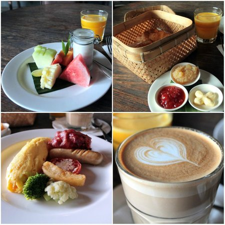 Alaya Resort Ubud: American breakfast at Petani Restaurant