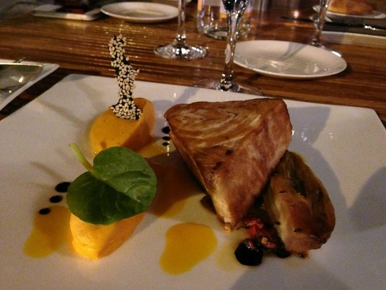 Restaurant Peron : Nice presentation