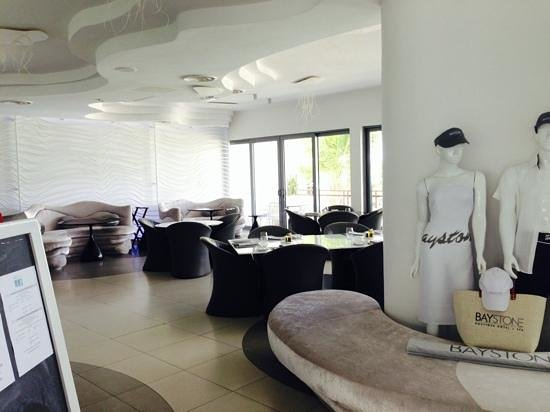 Baystone Boutique Hotel & Spa: cosy dining area