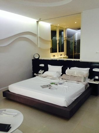 Baystone Boutique Hotel & Spa: Junior Suite, Sea View. Spacious and modern.