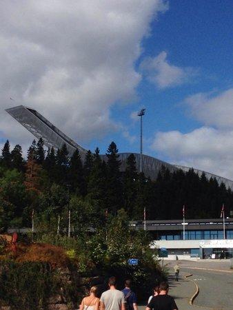 Schisprungschanze und Schimuseum am Holmenkollen: skischanze