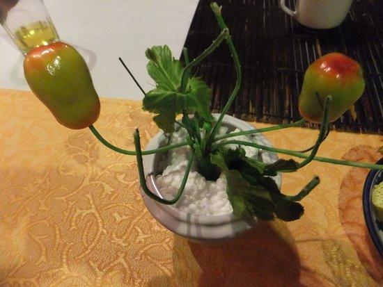 Y Thao Garden : グリーン豆のケーキ