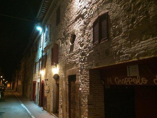 Hotel Al Grappolo d'Oro: Hotel from the street