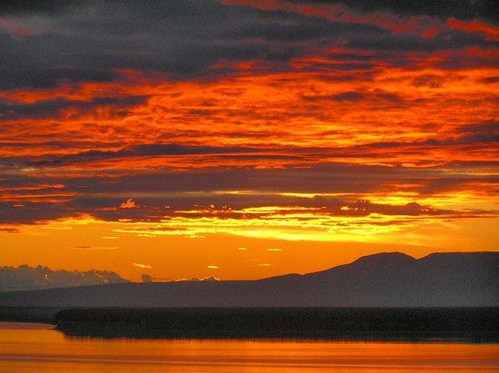 Sheraton Anchorage Hotel : tramonto