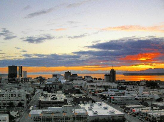 Sheraton Anchorage Hotel : dalla finestra