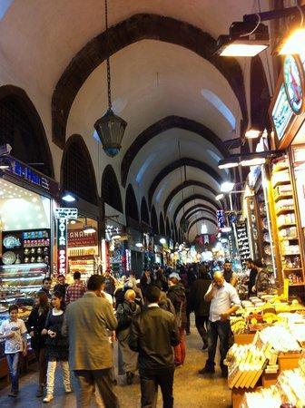 Ägyptenbasar / Gewürzbasar (Mısır Çarşısı): базар
