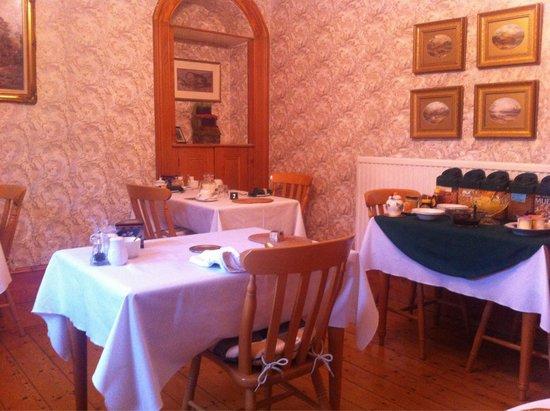 Ryeford Guest House: Frühstücksraum