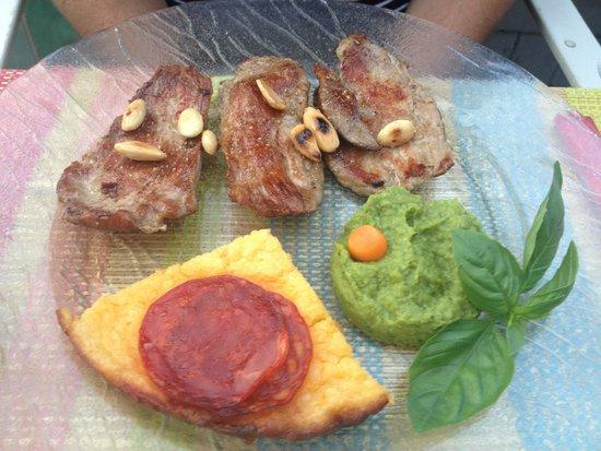 Le Goût des Choses : plat de pluma ibérique