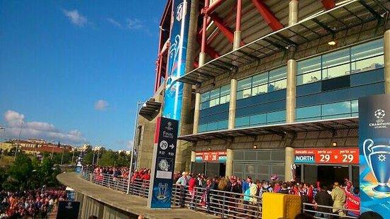 Estadio do Sport Lisboa e Benfica: accesos