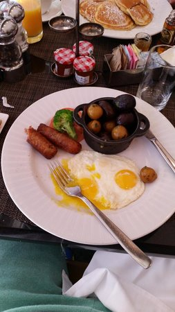 Sofitel New York: breakfast