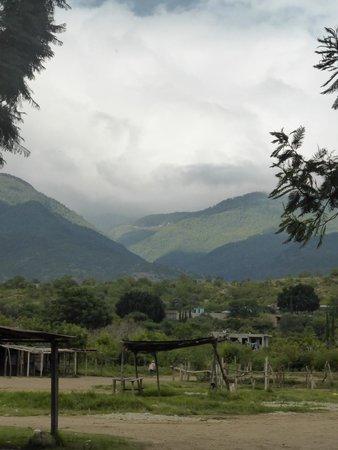 Fundacion En Via : View from the village