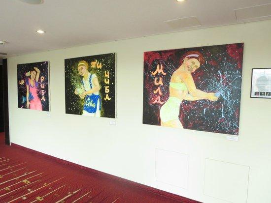 Radisson Blu Elizabete Hotel: フロア内の廊下