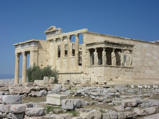 Electra Palace Athens: temple on Acropolis