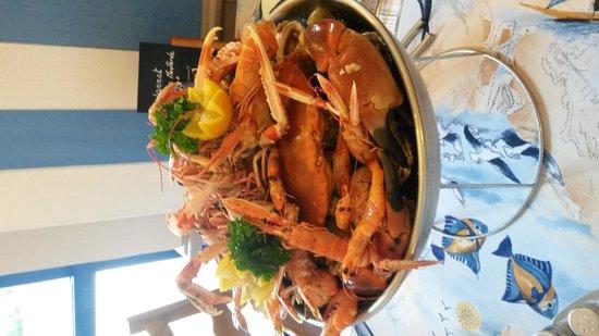 AL DENTE : plateau de fruits de mer