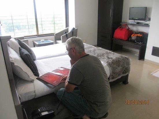 Hotel Le Grande: chambre lumineuse et confortable