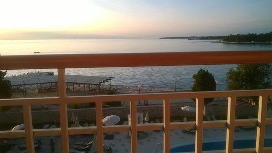 Sol Umag: tramonto dalla camera