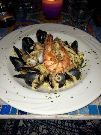 Broccolino Restaurant : Tagliolini con tutto il mare dentro... E il mare si sente per davvero.