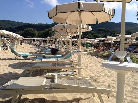 Hotel Hermitage -- Portoferraio : Spiaggia privata Hermitage