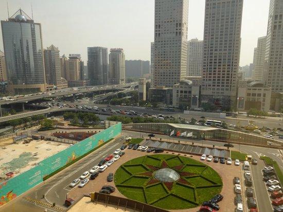Shangri-La's China World Hotel: Roomview
