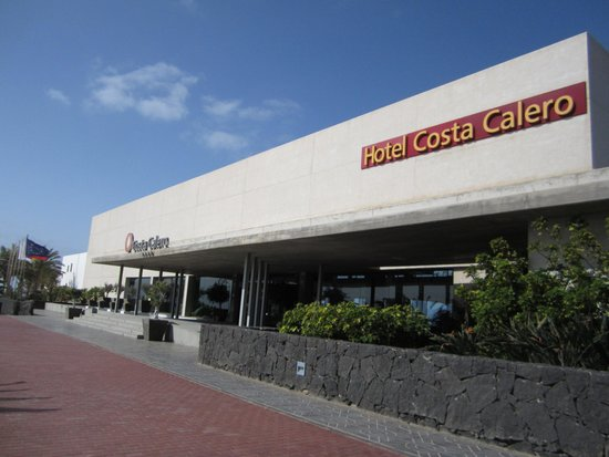 Hotel Costa Calero: Picture of the entrance (is at the 3rd floor)